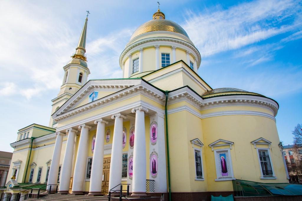 Собор Великого благоверного князя Александра Невского г.Ижевск