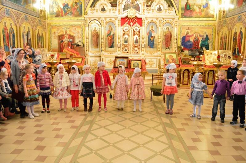 В соборе Святой Троицы состоялись торжества посвященные празднованию дня жен-мироносиц