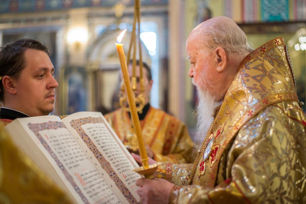 Митрополит Николай (Шкрумко) совершил Литургию в день своего рождения
