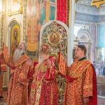 Архиерейское богослужение в неделю 4-ю по Пасхе, о расслабленном