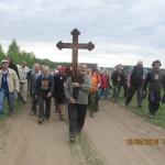 Cостоялся традиционный крестный ход Ижевск – Воткинск – Кельчино