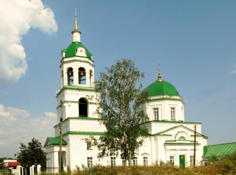Храм Николая Чудотворца с. Завьялово