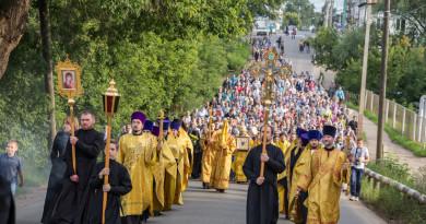 В Сарапул прибыла чудотворная икона святителя Николая («Никола Закамский»)