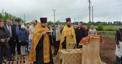 В пос. Первомайский будет построен новый храм