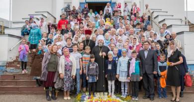 Архиерейское богослуженик в праздник Казанской иконы Божией Матери