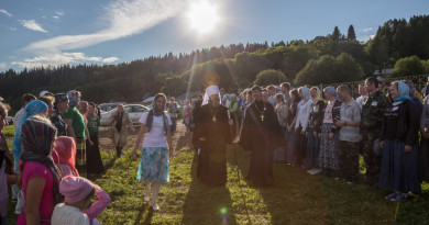 Состоялось открытие межрегионального фестиваля православной молодежи «Реки воды живой»