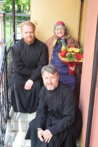 90-летний юбилей ветерана войны, работницы Собора Святой Троицы