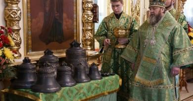 На телеканале Моя Удмуртия показали сюжет о восстановлении звонницы собора Александра Невского