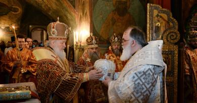 Патриарх Кирилл возглавил хиротонию архимандрита Антония (Простихина) во епископа Сарапульского и Можгинского