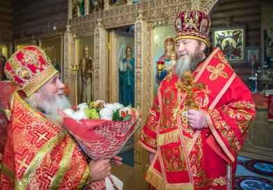 Престольный праздник в храме новомучеников и исповедников Российских г. Ижевска
