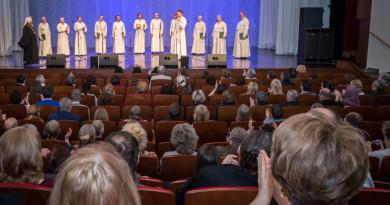 Концерт Праздничного Патриаршего мужского хора