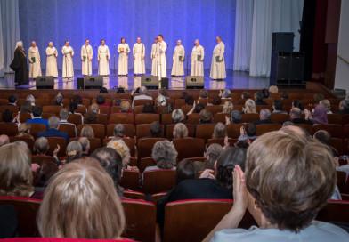 В Ижевске состоялся концерт Патриаршего хора Данилова Монастыря