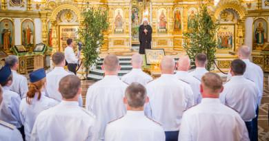 В Михайловском соборе почтили память бойцов отряда «Кречет», погибших при выполнении специальных заданий