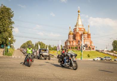 В Ижевске прошел крестный ход на мотоциклах