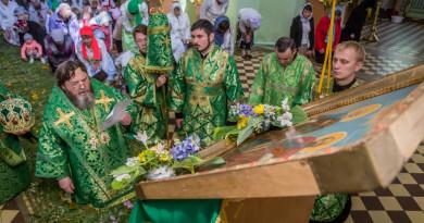 Престольный праздник в монашеской общине Ризоположения с. Люк