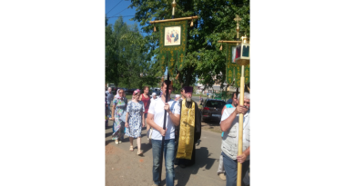 В день празднования Крещения Руси состоялся крестный ход