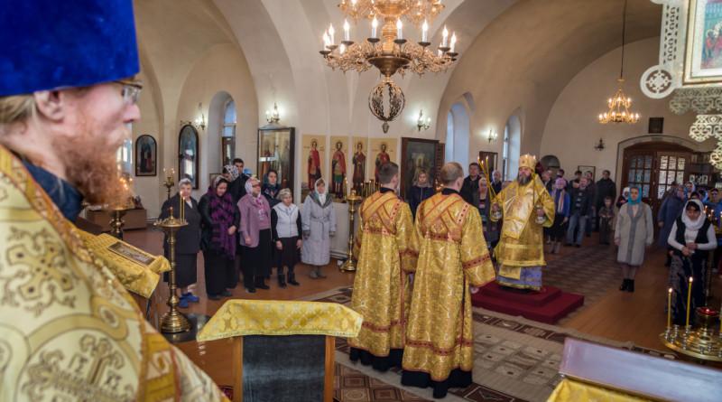 Архипастырское служение в день памяти ап. Иоанна Богослова