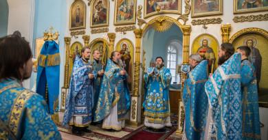 Престольный праздник в храме Покрова Пресвятой Богородицы с. Июльское
