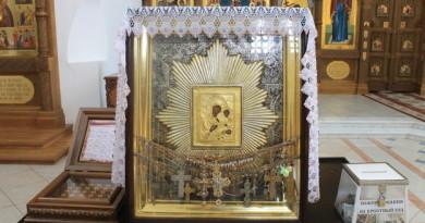 Крестный ход с иконой Божией Матери Ташлинская прибыл в Удмуртию