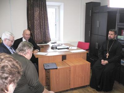 В православном реабилитационном центре прошел прием граждан