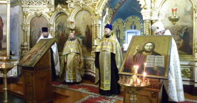 В Воткинске почтили память прот. Николая Чернышева и его дочери Варвары
