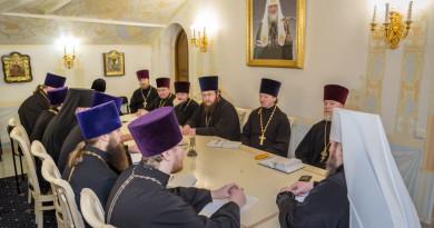 В Михайловском соборе состоялось заседание Епархиального совета