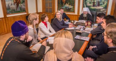 В Ижевском епархиальном управлении состоялась встреча с представителями музея им. Кузебая Герда