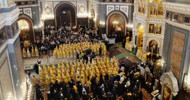 Митрополит Викторин принял участие в торжествах по случаю годовщины интронизации Патриарха Кирилла