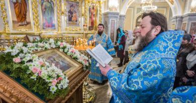 Престольный праздник храма Иверской иконы Божией Матери