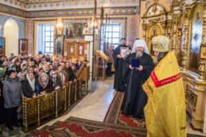 Митрополит Викторин поздравил с днем рождения одного из старейших священников епархии