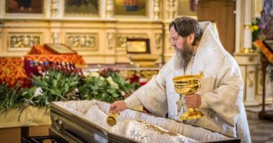 Митрополит Викторин совершил отпевание В.И. Кудинова