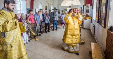 Освящение храма святых Космы и Дамиана с. Бабино
