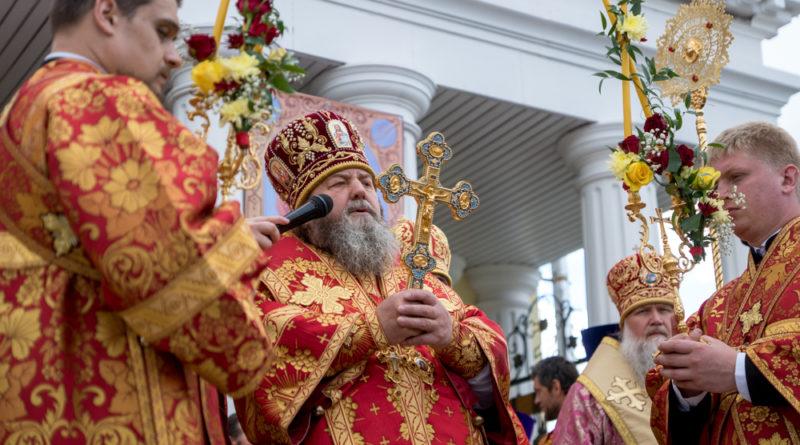 Митр. Викторин принял участие в торжествах в честь сщмч. Амвросия Сарапульского