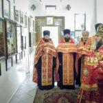 Накануне дня памяти вмч. Пантелеимона митрополит Викторин помолился в Пантелеимоновском храме г. Воткинска