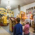 Служение митрополита Викторина в Неделю 16-ю по Пятидесятнице