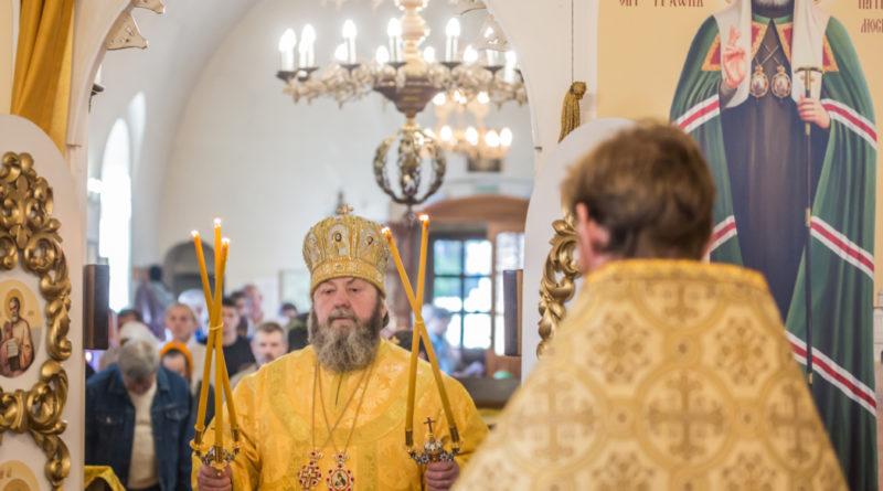 Архипастырское служение в Неделю 15-ю по Пятидесятнице - Ягул