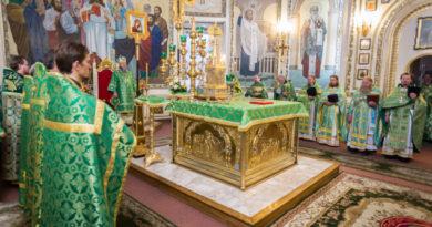 престольный праздник собор Невского