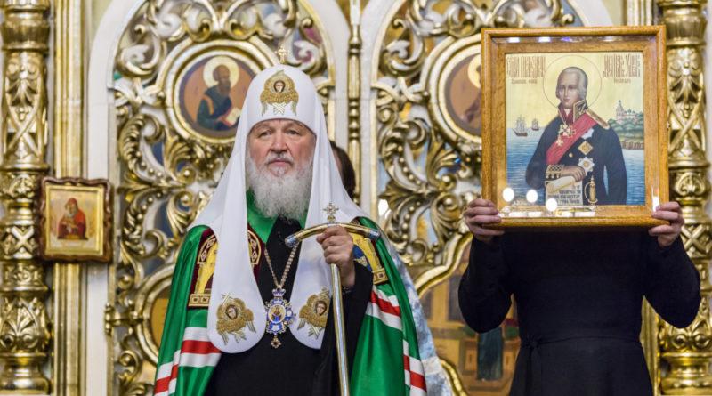 Слово Святейшего Патриарха Кирилла после вечернего богослужения в соборе Александра Невского