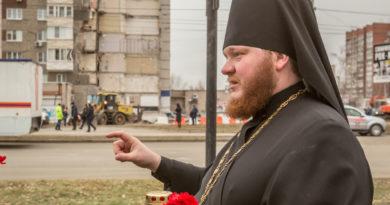 Священники Ижевской епархии почти с первых минут были на месте взрыва