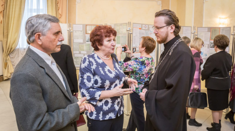 Священнослужитель принял участие в открытии выставки, посвященной 100-летию органов ЗАГС