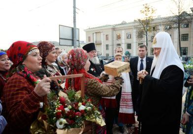 Святейший Патриарх Кирилл направил письмо православной удмуртской общине Ижевска