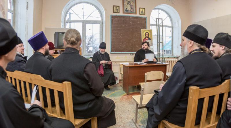 Состоялось собрание духовенства Воткинского благочиния