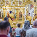 В Михайловском соборе г. Ижевска все литургии будут совершаться с открытыми царскими вратами