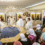 В храме прп. Серафима Саровского г. Ижевска освящен нижний крестильный храм