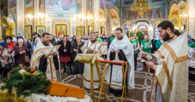 В кафедральном соборе помолились о невинно убиенных младенцах