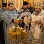 Архипастырское служение накануне праздника Сретения