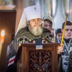 Чтение второй части покаянного канона митр. Викторин совершил в Александро-Невском соборе