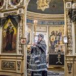 Архиерейское служение в среду первой седмицы Великого поста