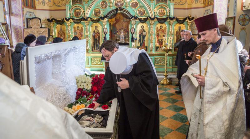 В Свято-Троицком храме с. Якшур состоялось прощание с Т. Я. Кудиновой