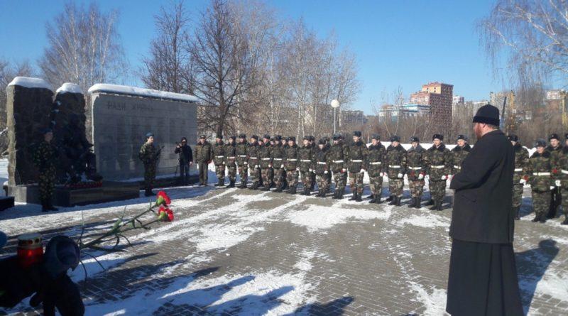 Панихида по героически погибшим воинам-десантникам